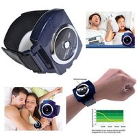 Wholesale Small wholesales high quality Snoring Cessation infrared intelligent snore stopper anti snore apparatus wrist electronic snore stopper