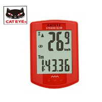 Wholesale CATEYE Cycling Bike Bicycle STRADA Wireless CC RD310W Digital Computer Speedometer Stopwacth Bicycle Accessories Colors