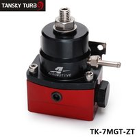 Wholesale TANSKY High Quality EFI Injected Bypass Fuel Pressure Regulator AN6 High Performance JDM Adjustable Black Red TK MGT ZT