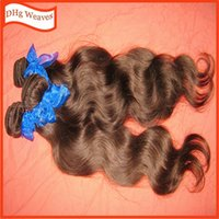 hair dye color - Light brown dyed wavy human hair extensions malaysian weave wefts EXTREME soft fast shipping