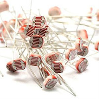 Wholesale TS Newest Practical Electronic Passive Components GL5528 Photo Light Sensitive Resistor Photoresistor Red ST