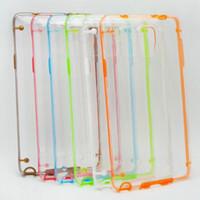 For Samsung galaxy note 2 - Glow in Dark Luminous Hybrid Clear Crystal Hard Plastic TPU Gel cover case cases For Samsung Galaxy Note Note3 Note4