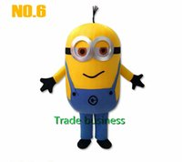Wholesale Brand New Custom Despicable me minion mascot costume made Despicable Me cartoon mascot costumes thief dads yellow people
