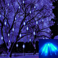 light bulb string lights - 2015 new cm Meteor Shower Rain Tubes Led Light Lamp V EU US Plug Christmas String Light Wedding Garden Decoration Xmas
