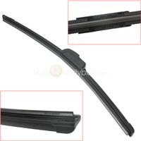 Wholesale Car cm Length Black U type Bracketless Windshield Windscreen Wiper Blade New