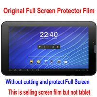 archos tablet protector - Screen Guard For quot ARCHOS Copper DNS AirTab MA7001 Tablet Original Clear Full Screen Protector Film Free Ship