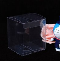 Wholesale 9 cm Plastic Packaging Box Clear Birthday Wedding gift Clear Box Cup Toy Packing PVC Box