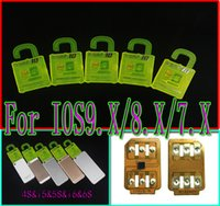 Wholesale R SIM Newest version R SIM RSIM Rsim10 Unlock Card for IPHONE s S S IOS8 ios9 ios9 ios9 ios9 G G Sprint AU SB