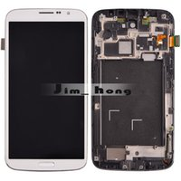 Wholesale for Samsung Galaxy Mega i9200 i9205 Touch Screen Display Digitizer LCD Assembly with frame