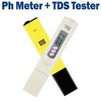 Wholesale Digital PH Tester Meter Water Quality Purity TDS Tester Electrolytic Device Testing PH IA pH for Aquarium Pool Water