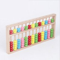 abacus calculators - Wooden Toy multifunctional educational Maths Teaching beads Calculator numbers shelves Traditional ABACUS learning digital children toy
