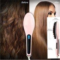 Wholesale Beautiful Star NASV Hair Straightener Straight Hair Styling Straightening Irons Digital Temperature Controller free ship