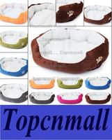 Wholesale Cashmere like soft warm Pet Cat Bed Pet Nest luxury Dog nest Luxury warm round