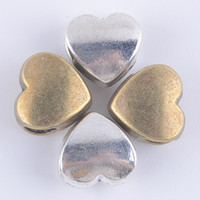 heart charm - 2016 Hearts Love Silver Plated Charms charms for jewelry making DIY Jewelry Findings Components Necklaces Pendants