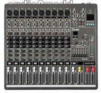 Wholesale YA1000 Professional Audio Powered Mixer Channels Double Graphic EQ Mezcladora De DJ