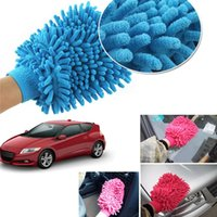 Wholesale Useful Microfiber Car Window Washing Home Cleaning Cloth Duster Towel Gloves LY153
