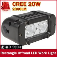 Wholesale High Power x W CREE Bead LEDs Rectangle Offroad LED Work Light Waterproof LM W