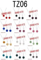 Wholesale sets Shamballa Clay Beads Necklace Earring Jewelry Set color for your choice