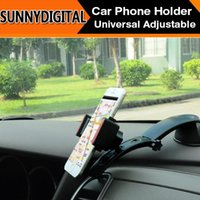Wholesale 60pcs Car Phone Holder Extend Car Mount Holder Stand Universal Adjustable Phone Holder Imount with Sucker Base Rotation