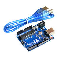 Wholesale Arduino UNO R3 development board MEGA328P ATMEGA16U2 USB cable