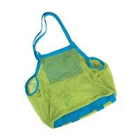 big bag sand - 5pcs Kids Sand Away Big Beach Bag For Shell Collection and Beach SandBox Toys