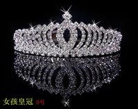 Wholesale Hot diamond crown and lovely little girl tire crown princess and the little girl perfect children dress and accessories choose a col