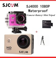 Wholesale SJCAM SJ4000 WiFi Sport Action Camera P Full HD Waterproof Camcorders GoPro Hero Go Pro Hero3 Style SJ FPV Camera