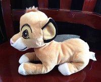 achat en gros de très bons jouets de qualité-1pcs d'expédition en gros-gratuit 20cm Le Roi Lion Simba peluche poupées de peluches, de très bonne qualité avec un tag