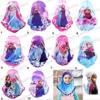 Wholesale Children cotton Muslim scarfs handmade beading scarf Spangle embroidery shawl Acrylic scarf Kids Head scarves hijab