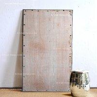 american locker - Metal frame wall hanging body dress dressing mirror dressing locker American country large wall mirror
