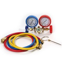 ac gauge set - AC Diagnostic Manifold Gauges Tools Set For Refrigeration Air Conditioner Air Condition Parts order lt no track