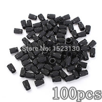 bicycle tire - GPS x TR413 Bicycle Bike Plastic Wheel Tire Valve Stem Cap Anti dust Cover Black