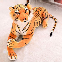 Cheap Free Shipping Creative Cute Plush Tiger Toys Lovely Stuffed Doll Animal Pillow Tiger Pillow Cushion Birthday Gifts JA0103