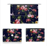 Wholesale A full body cover three sides seamless keyboard stickers Colorful stickers affixed Apple Macbook Pro Inch Decal Skin Cover For Laptop