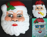 Wholesale Christmas toy Santa Claus mask Makeup mask dance party masquerade masks