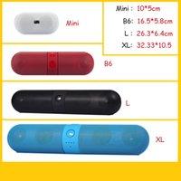 2.1 pill - Bluetooth Speaker Wireless Portable MIni Speaker For Pill Speaker Bluetooth Hifi Stero Subwoofer Freeshipping DHL
