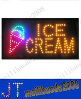 business open sign - Flashing Motion LED Business Ice Cream Shop SIGN On Off Switch Open Light Neon MYY10543A