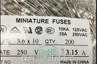 Wholesale 1000pcs v a slow blow glass fuses mm