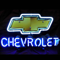 auto neon light - 17 quot x14 quot Chevy Chevrolet US Auto design Real Glass Neon Light Signs Bar Pub Restaurant Billiards Shops Display Signboards