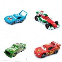 cars 2 diecast - Pixar Cars The King Chick Hicks Mcque Francesco Bernoulli Diecast Metal Car Kids Toy