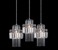 modern lighting pendant - Modern high end luxury fashion crystal Pendant Lights lights