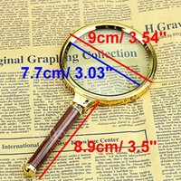 Wholesale M112 quot New mm Handheld X Magnifier Magnifying Glass Loupe Reading Jewelry