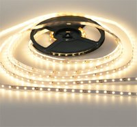 Wholesale 3528 M DC V White Warm white LED Strip SMD Flexible light led m outdoor Non waterproof waterproof IP65 Ribbon A power