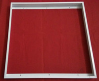 Wholesale LED Panel Light Brackets MM Square Aluminium Frame Surface Mounting Frame for Panel Lights Ceiling Light Fixer Screws sets