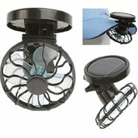 Wholesale Clip on Solar Sun Power Energy Panel Cooling Cell Fan ideal for outdoor activities Solar Powered Clip on Mini Cell Fan