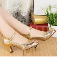 ballroom dance photo - Ms Photo Color professional dance shoes to adapt to modern dance ballroom dancing Latin dance high heel cm clz0282