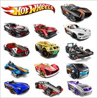 bicycle race car - 10pcs Hot wheels classic cars toys boys race cars scale mini cars models kids gifts with retail packing