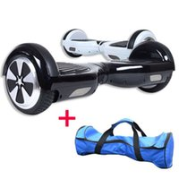Wholesale 6 Inch Two Wheel Smart Scooter Self Balancing Electric Scooter Remote Control Led Lights Unicycle LG Battery mh