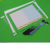 Wholesale Replacement Touch Screen Digitizer Glass Lens repair part For iPad nd Gen Green Adhesive tools