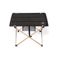 Wholesale High Quality Aluminium Alloy Ultra light Portable Folding Table Foldable Outdoor Camping Picnic Desk g